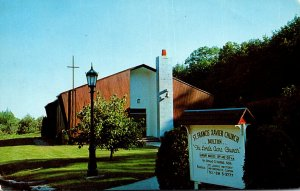 Massachusetts Bolton St Francis Xavier Church 1979