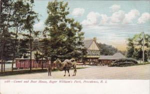 Camel And Boat House Roger Williams Park Providence Rhode Island