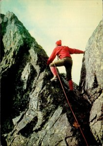MNT00341 mount climbing tatry wysokie na grani sport poland