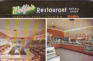 Florida St Petersburg Wolfie's Restaurant & Fountain Retail Bake Shop and Del...