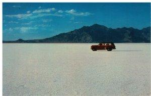 Postcard - Bonneville Salt Flats, Salt Lake City, Utah
