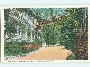 W-Border HISTORIC HOME Aiken South Carolina SC W4756