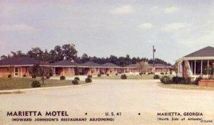 MARIETTA HOTEL AND HOWARD JOHNSON'S MARIETTA, GA