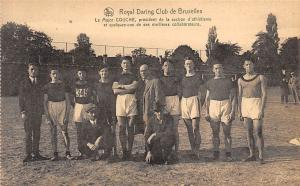 Royal Daring Club de Bruxelles, Le Major Couche, president section d'athletisme