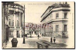 Old Postcard SEDAN. - THEATER HOTEL & CITY COURT