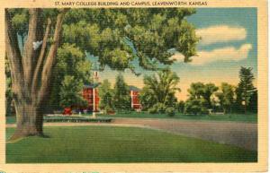 KS - Leavenworth, St. Mary College Campus