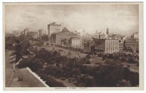 Sydney,  Australia, Early View of Macquarie Street