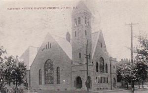 Illinois Joliet Eastern Avenue Baptist Church 1910