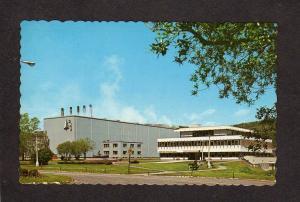 QC PQ McCormick Bldg Baie Comeau Quebec Canada Postcard Carte Postale