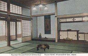 JAPAN, 1930s; Pavilion Chrysanthemum, Fujiya Hotel, Miyanoshita Spa