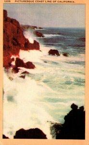 California Picturesque Coast Line