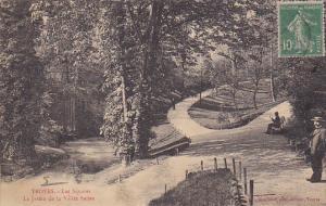 France Troyes Les Squares Le Jardin de la Vallee Suisse 1923