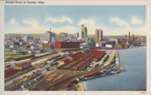 Ohio Toledo Aerial View