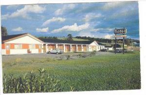 Motel Au Vallon , Causapscal  , Quebec, Canada, 50-60s