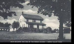 New York Roscoe Main Building Green Valley Farm Tennanah Lake Artvue