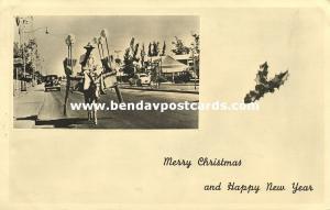 venezuela, MARACAIBO, Street Scene, Broom Seller on Donkey Cart (1956) RPPC