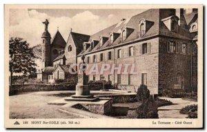 Old Postcard Mont Sainte Odile La Terrasse