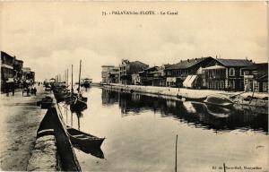 CPA Palavas-les-Flots Le Canal (255544)