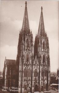 Germany Koeln Dom Westseite Photo