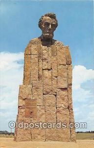Cheyenne, WY, USA Lincoln Monument
