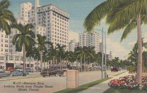 Miami , Florida , 30-40s ; Biscayne Blvd.