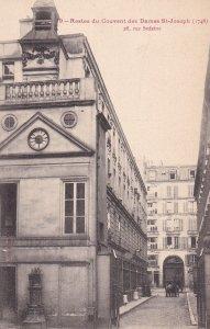 PARIS, France, 1900-1910's; Restes Du Couvent Des Dames St. Joseph, Rue Sedaine