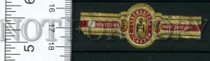 500006 SH Lebensstern Vintage embossed cigar label