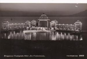 Austria Bregenz Bregenzer Festspiele 1954 Die Fledermaus Real Photo
