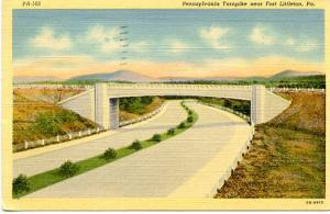 PA - Pennsylvania Turnpike  Near Fort Littleton