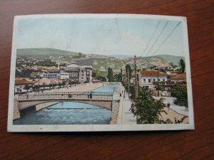 Bosnia Herzegovina Postcard 1910 Postmark Switzerland Swiss Postage Due Stamp