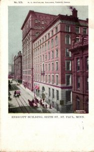 Minnesota St Paul Endicott Building Sixth Street 1905