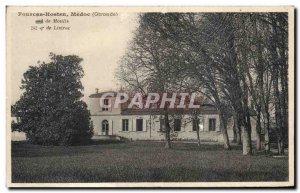 Postcard Old Fourcas Hosten Listrac Medoc Molis