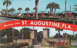 Florida Saint Augustine Greetings From Saint Augustine