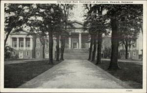 Dnewark DE University Old College Hall Postcard