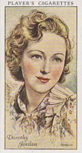 Players Cigarette Cards Film Stars No 28 Dorothy Jordan