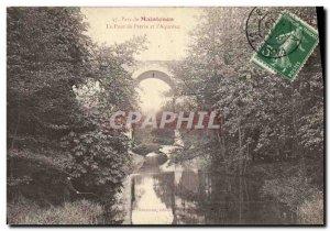 Old Postcard Maintenon The stone bridge and aqueduct