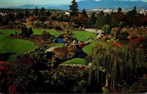 Canada Vancouver Queen Elizabeth Park Aerial View