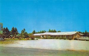 Effingham SC Pine View Motel Restaurant Located on U.S.301 Postcard