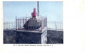 17393  New Jersey Union Hill Alexander Hamilton Monument