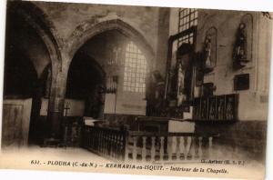 CPA PLOUHA-KERMARIA en ISQUIT-Intérieur de la Chapelle (230887)
