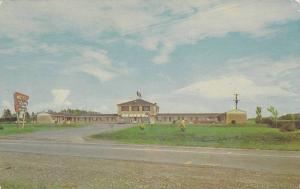 Motel de Levis, Lauzon, Quebec, Canada, PU-1977