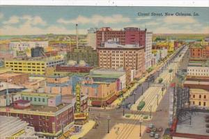 Louisiana New Orleans Canal Street Curteich