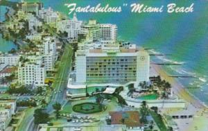 Florida Miami Beach Hotel Row Looking North 1973
