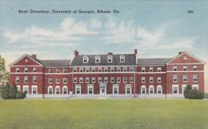 Georgia Athens Boys' Dormitory University Of Georgia