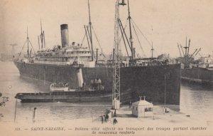 SAINT NAZAIRE , France , 00-10s ; Ship in port