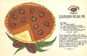 Grandmas Gold's Original Southern Pecan Pie Recipe Unused