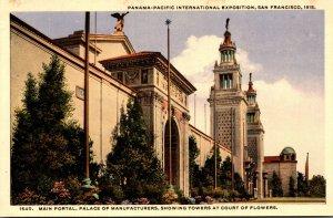 California San Francisco Panama-Pacific International Expo Main Poortal Palac...