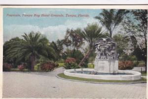 Florida Tampa Fountain Tampa Bay Grounds