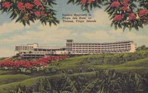 Eastern Approach to Virgin Isle Hotel on Thomas,Virgin Islands,30-40s