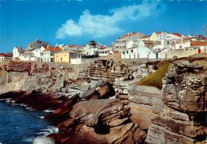 Portugal Ericeira A Typical View Postcard